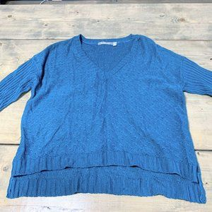 NY Collection NWOT Teal Colored Women's Sweater